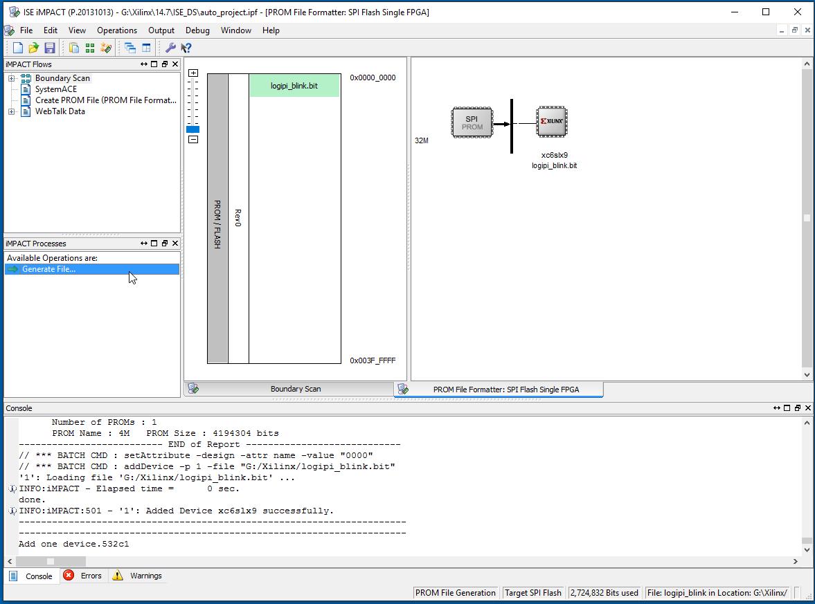Programming the Logi-Pi-2 flash in Standalone Mode? — Forum